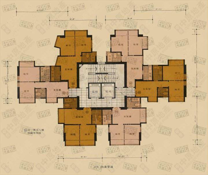 屋苑 - 发展商示范单位